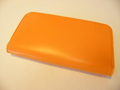 長財布(ラウンドファスナー) 蜜柑(オレンジ) HCK170-Z